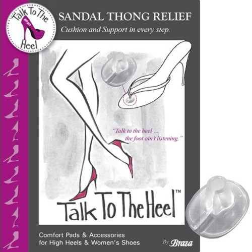Talk To The Heel Sandal Thong Relief Package