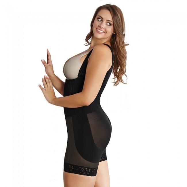 4ee0695b735 CoCoon Full Body High Compression Wonder Shaper Plus Size Black Back