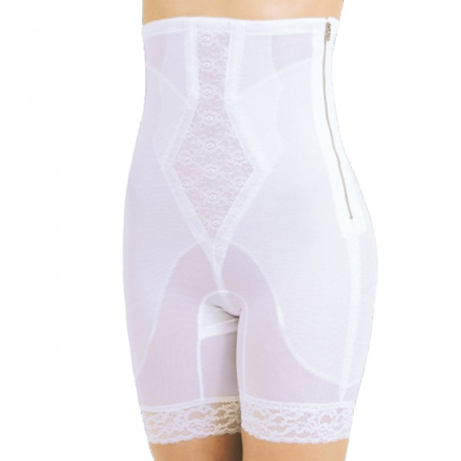 7a0249b37 Rago Silky Smooth Zippered High Waist Long Leg Pantie Girdle
