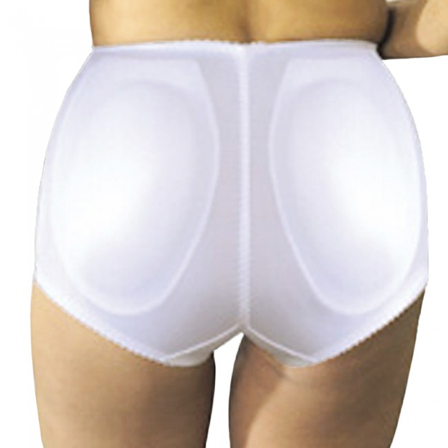 ec43a31f2f9 Rago Moderate Control Padded Pantie Girdle White Back