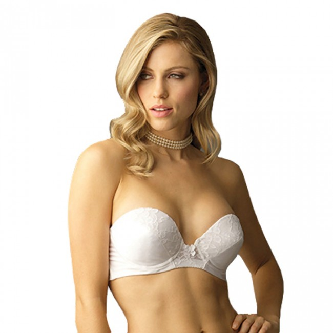 Va Bien Low Plunge Push-up Strapless Bra Style 6161 || Shop at ...