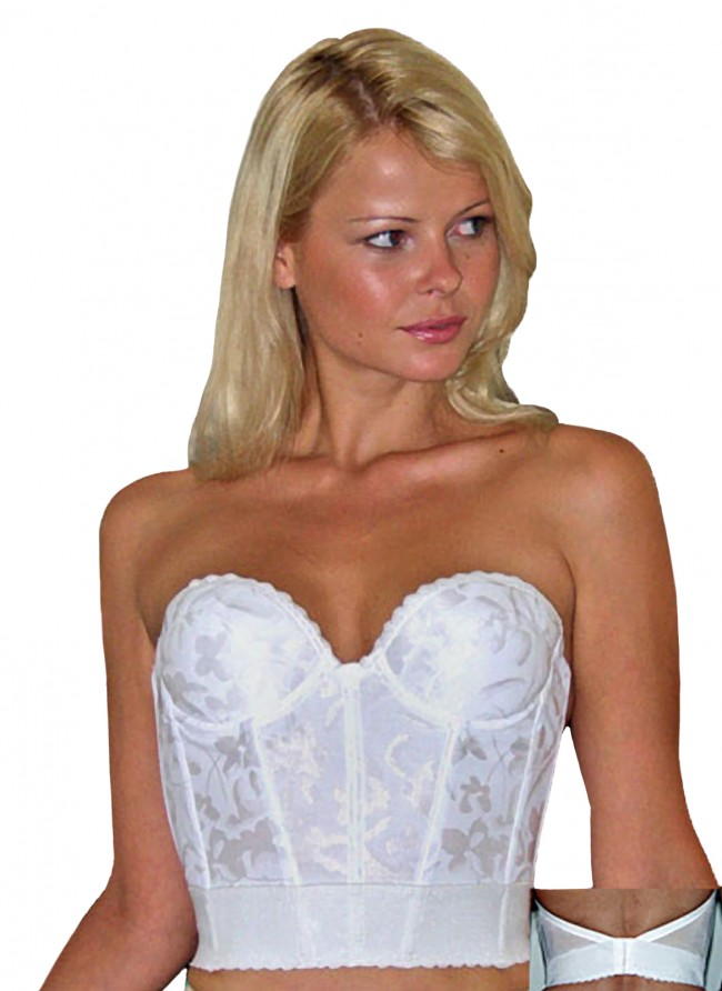 Valmont Low Back Longline Strapless Bra II Shop at Stardust ...