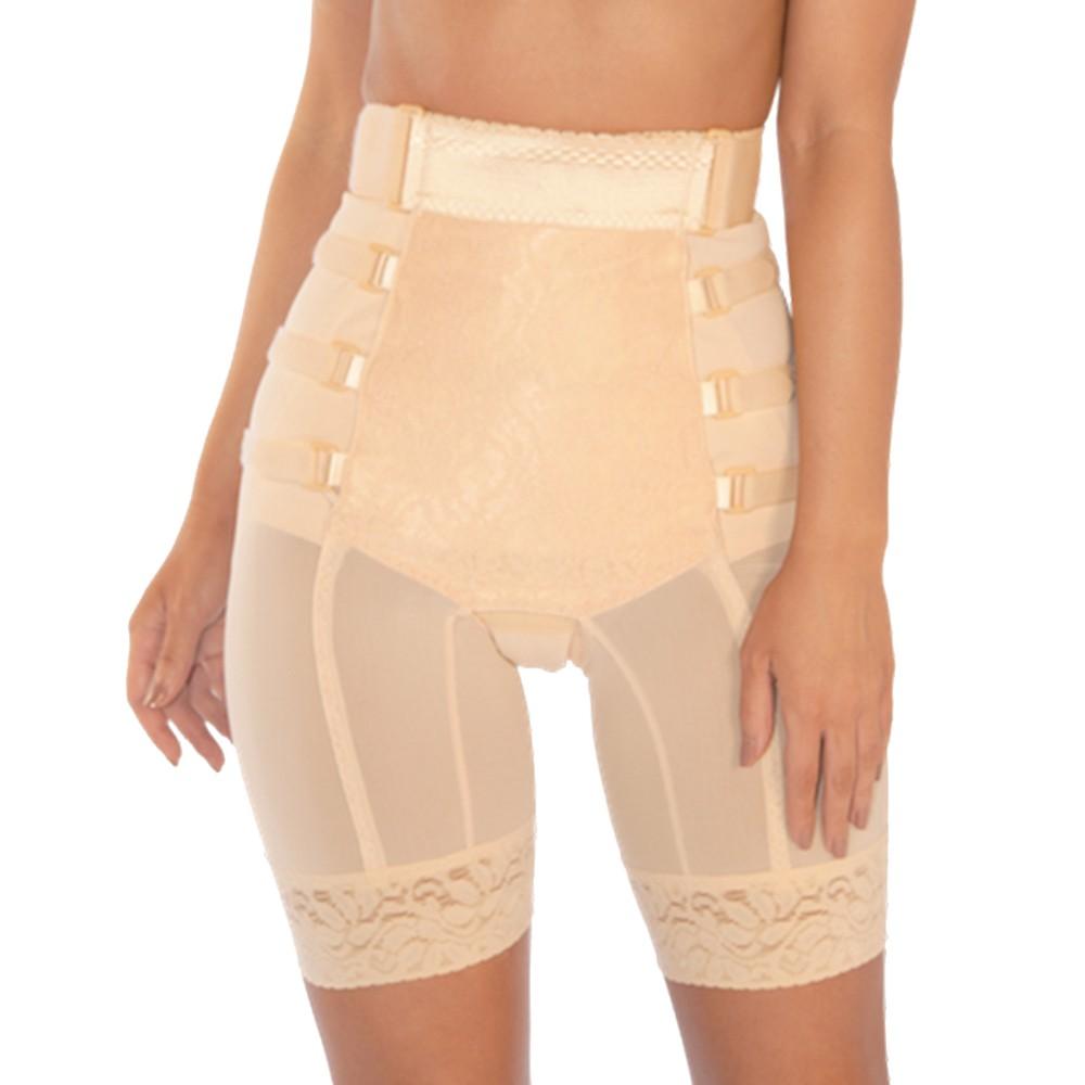 Pink Shaper Postpartum Long Leg Girdle