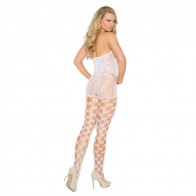 Elegant Moments Crochet Bodystocking Style 1656