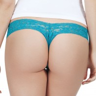 Cupcake Panty 3-Pack Low Rise Thong Style P42-2