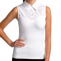 SkinnyShirt Sleeveless Classic Collar Style CSCOT100