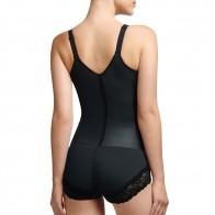 Squeem Brazilian Flare Open Bust Bodysuit Style 26FL
