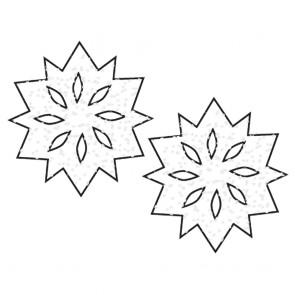 Pastease Snowflake Nipple Covers