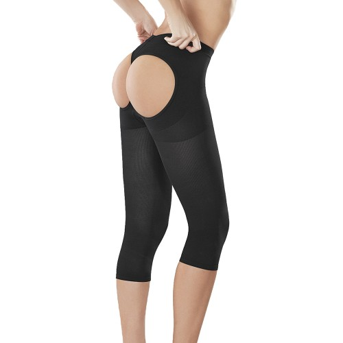 CoCoon The Butt Booster Skin Care Capri Shaper Black Front