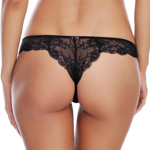 Affinitas Milly Sheer Brazilian Thong Style A12341