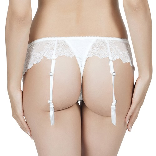 Affinitas Pearl Skirted Thong Panty Style A1044