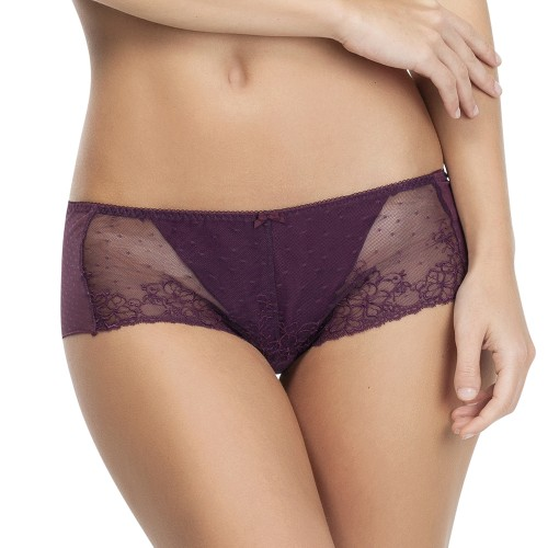 Affinitas Molly Hipster Panty Plum Front