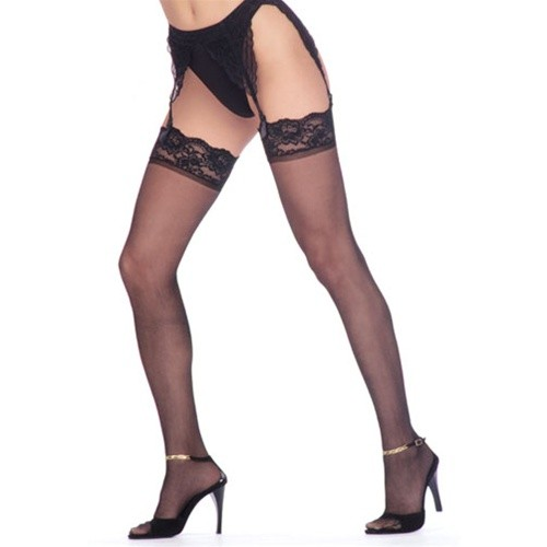 Aire Lace Top Sheer Stocking Style 323