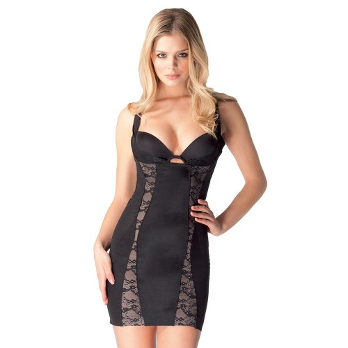 Body Hush Glamour Lace Control Slip Style BH1502L