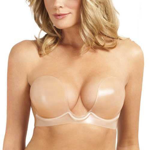 Fashion Forms Body Sculpting U-Plunge Backless Strapless Bra Style 16542