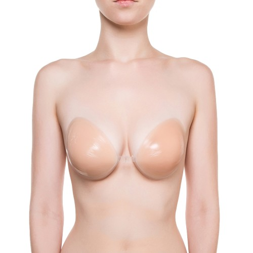 NuBra Strapless Backless Bra Front Nude 1
