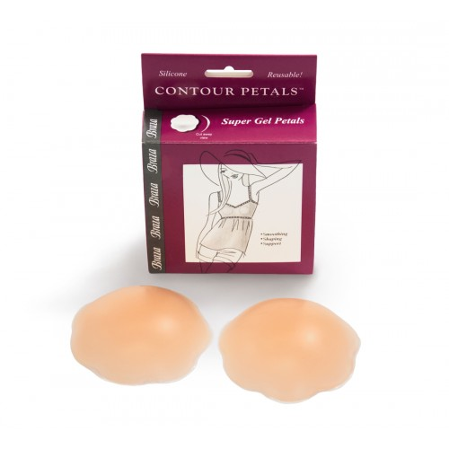 Braza Silicone Contour Petal Nipple Covers Package
