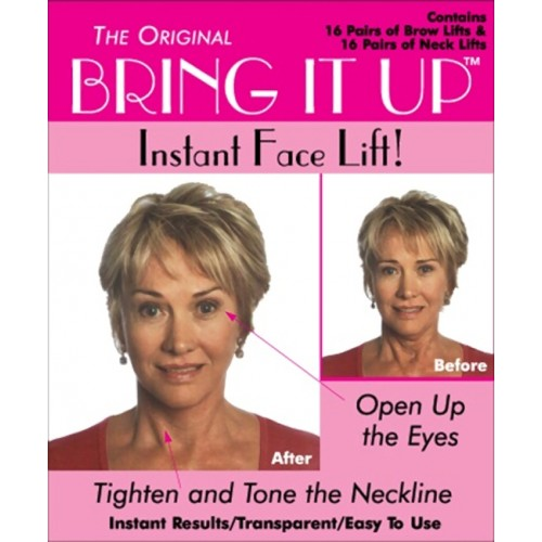Bring It Up Instant Face Lift 32-Pair Pack Package