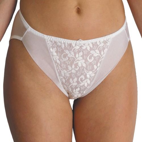Carnival Lace Center Glistenette Hi-Cut Panty Style 3033