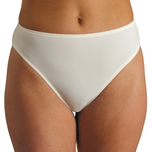 Carnival Seamless Microfiber Hi-Cut Panty Style 3036