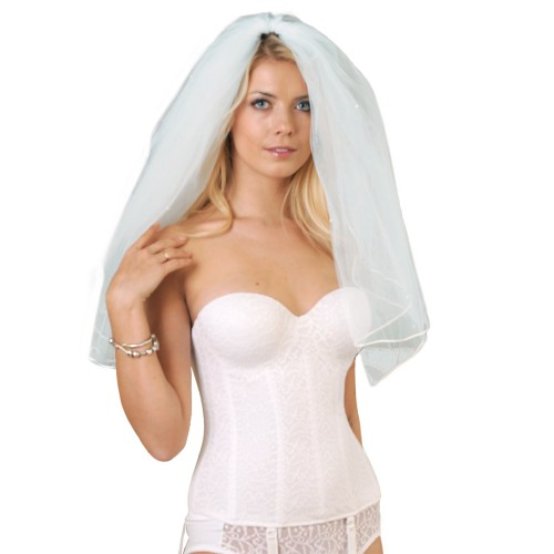 Carnival Invisible Lace Full Coverage Torsolette Style 425