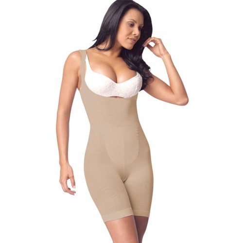 Cocoon Braless Long Leg Body Briefer Style 1385