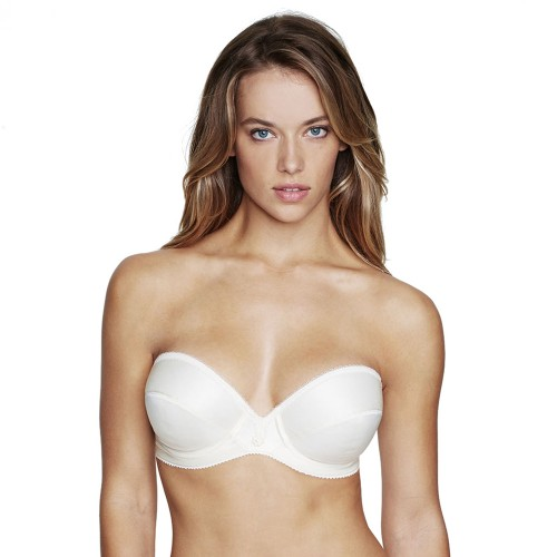 Dominique Satin Underwire Strapless Bra Style 8103