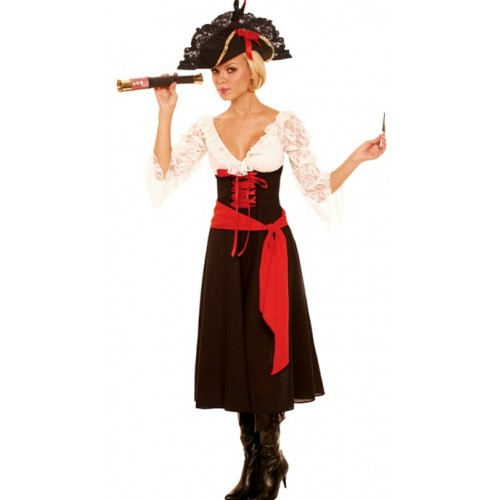 Elegant Moments High Seas Mistress Costume Style 9695