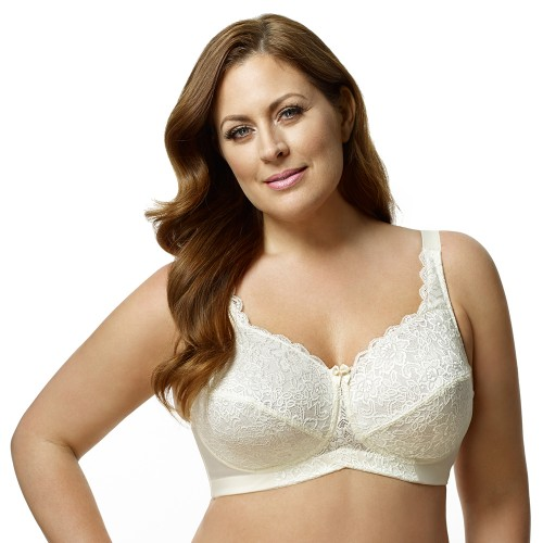 Elila Stretch Lace Softcup Bra Style 1607