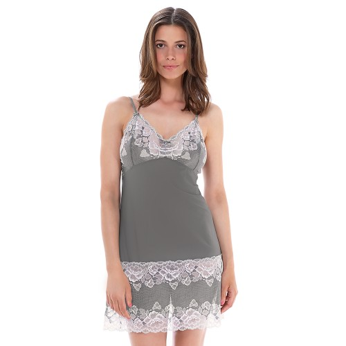 Fantasie Marianna Chemise Silver Front