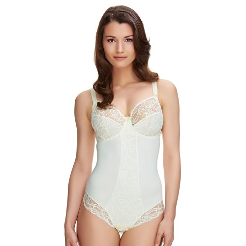Fantasie Jacqueline Lace Underwired Bra Body Ivory Front