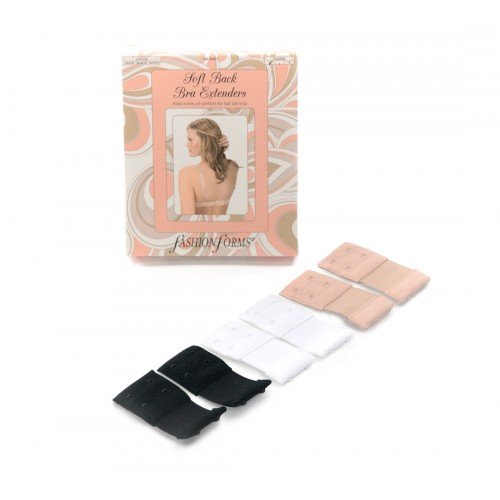 Fashion Forms Soft Back Bra Extenders Package