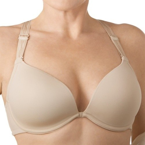 Femi Deep Plunge Convertible Bra Nude Front