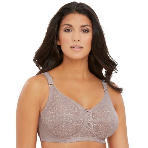 Glamorise Classic Lace Support Bra Style 1102
