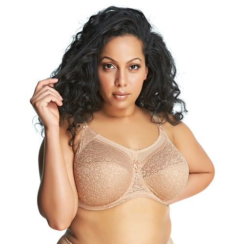 Goddess Adelaide Underwire Full Cup Bra Sand Front