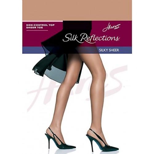Hanes Silk Reflections Silky Sheer SF Pantyhose Style 00715