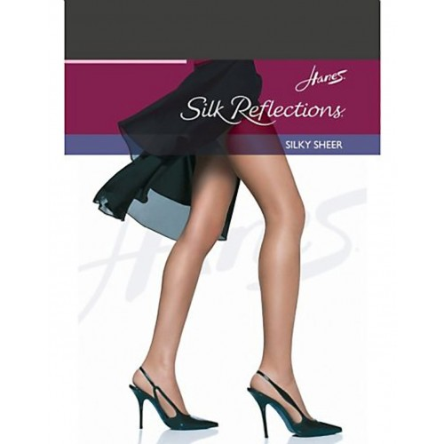 Hanes Silk Reflections Silky Sheer RT Pantyhose Style 00716