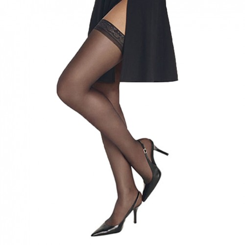 Hanes Silk Reflections Silky Sheer Thigh High Style 00720