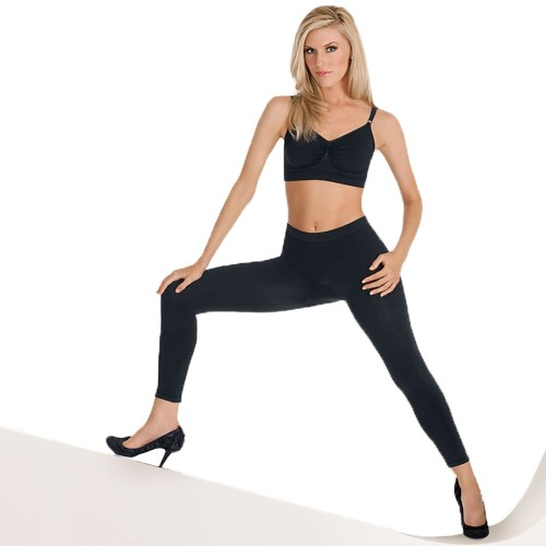 Julie France Seamless Butt Lift Capri Pantliner Black Front