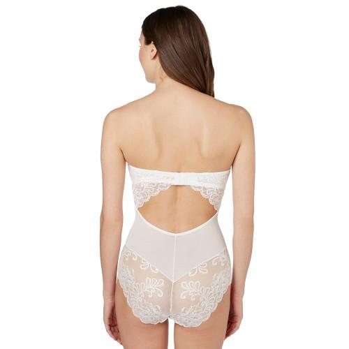 Le Mystere Sophia Lace Strapless Bodysuit Style 3535