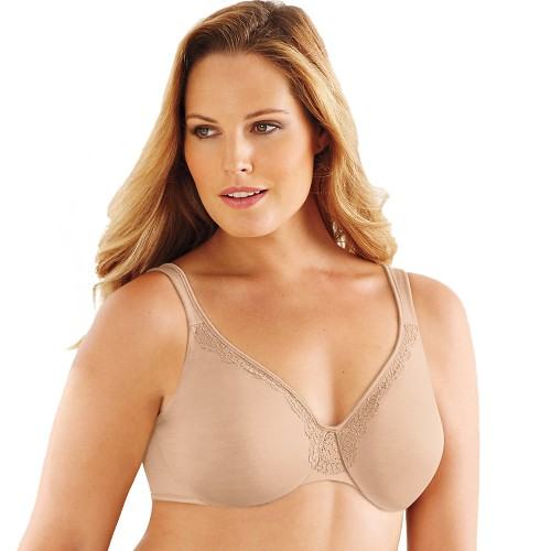 Lilyette Endless Smooth Minimizer Underwire Bra Body Beige Tonal