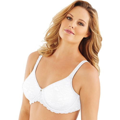 Lilyette Beautiful Support Lace Minimizer Bra Style 0977