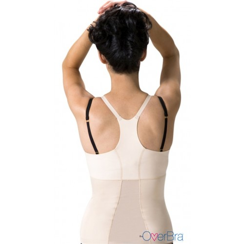 OverBra Longline Push Up Vest Style 4602