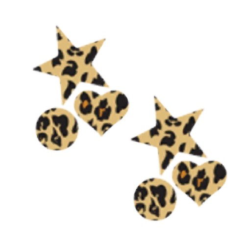 Pastease Mini Nipple Pasties Wild Cheetah