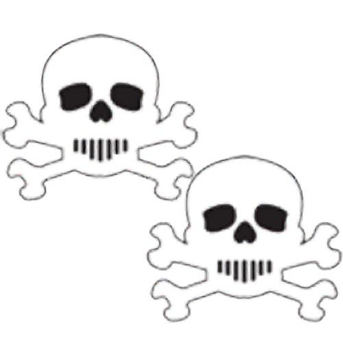 Pastease Skull Nipple Covers