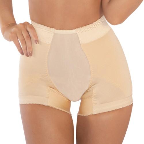 Pink Shaper Butt Lift Panty Beige Front