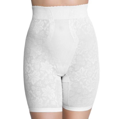 QT Intimates Lace Jacquard Control Long Leg Panty Girdle Style 298