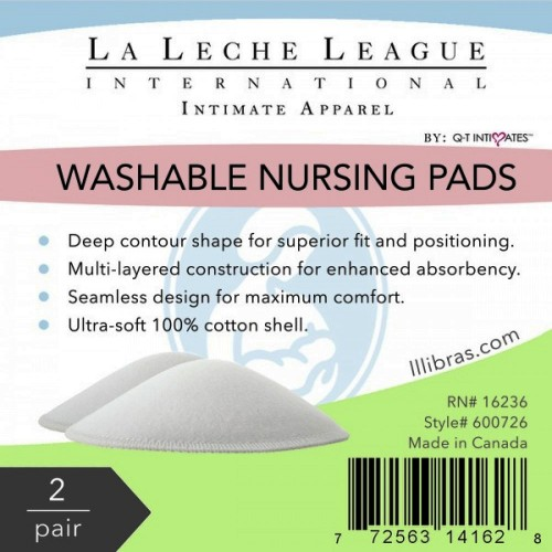 QT Intimates Washable Cotton Nursing Pads Package