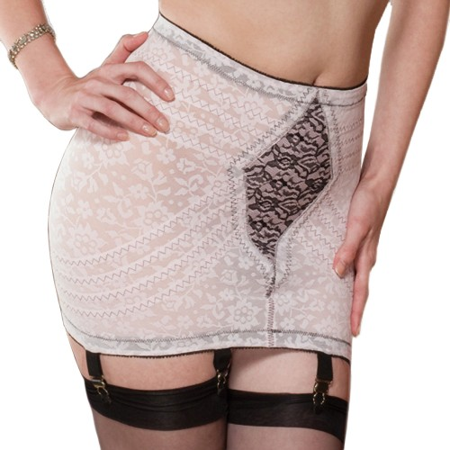 Rago Jacquard Firm Control Open Bottom Girdle