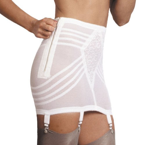Rago Metal Zippered Open Bottom Girdle